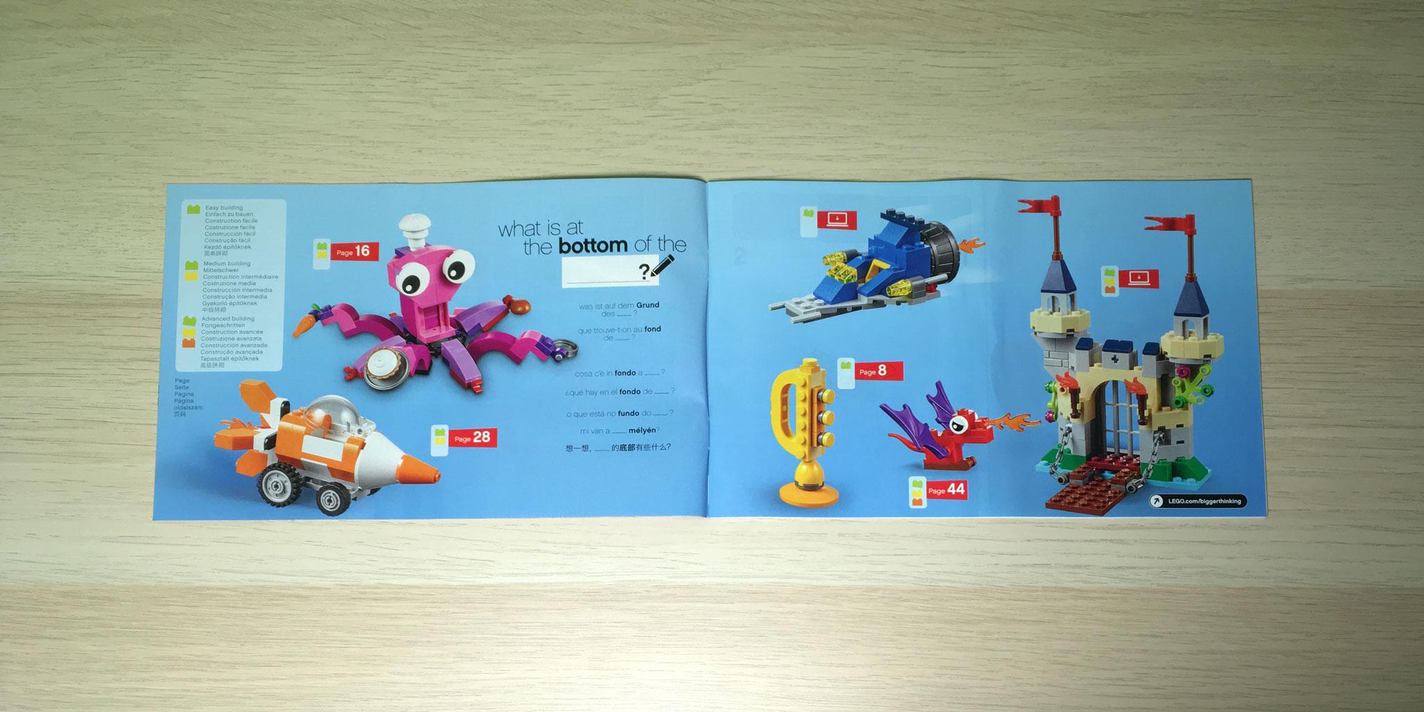 LEGO Set Review: 10404 Ocean\'s Bottom • NOVALISTIC