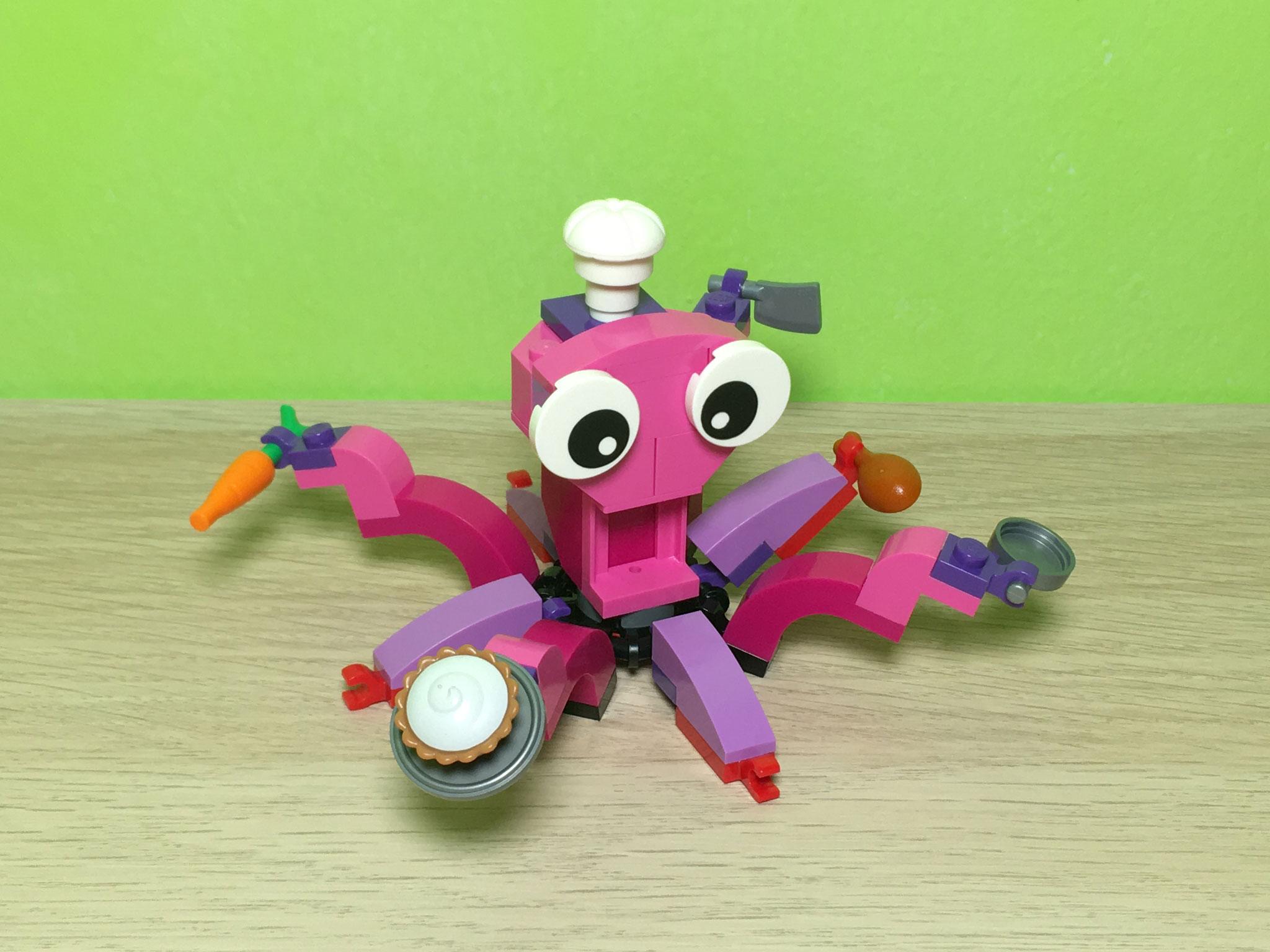 Sea Lego New X8 Dark Red Crab Water Animal Lot