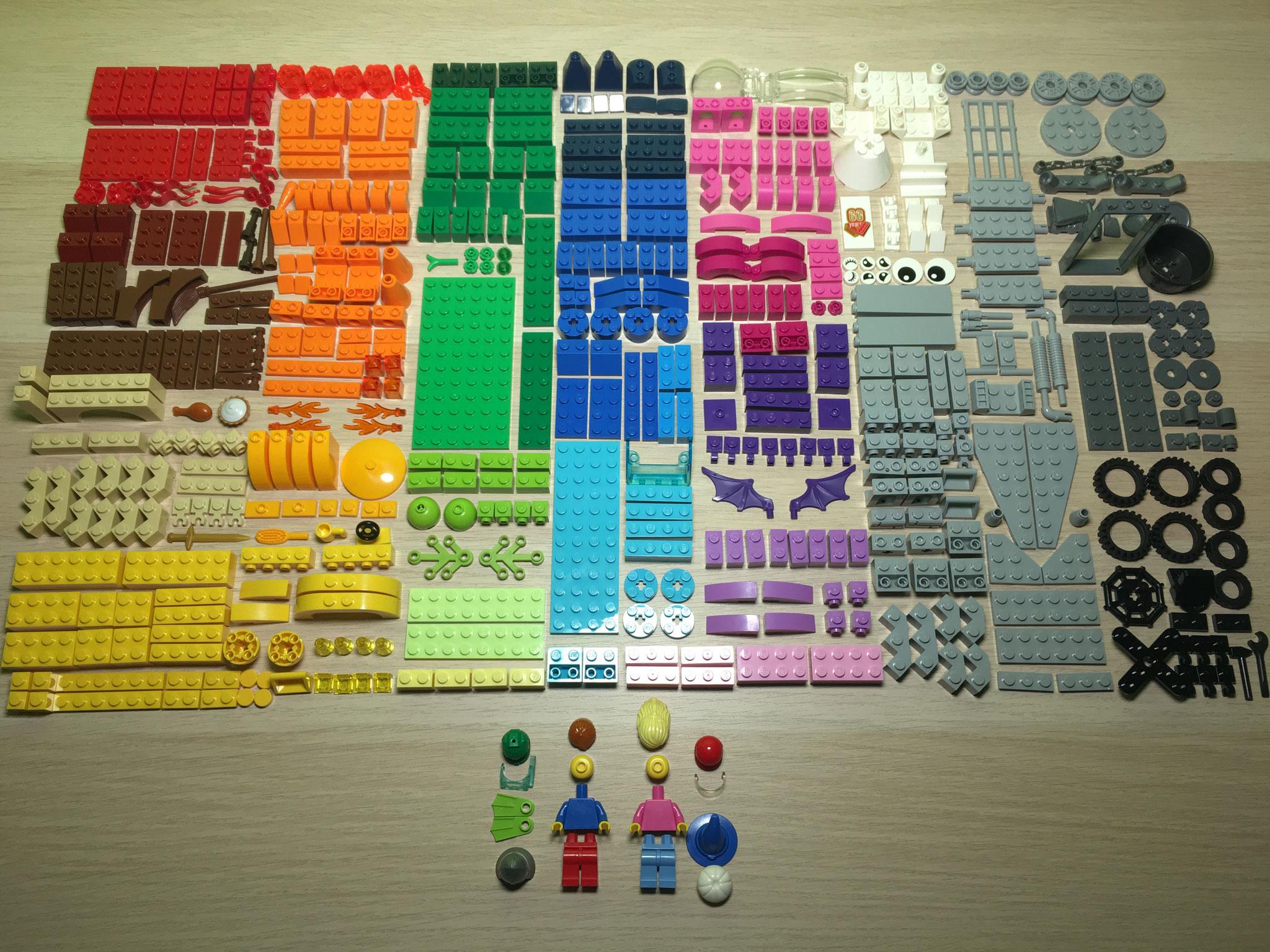 LEGO Set Review: 10404 Ocean's Bottom • NOVALISTIC