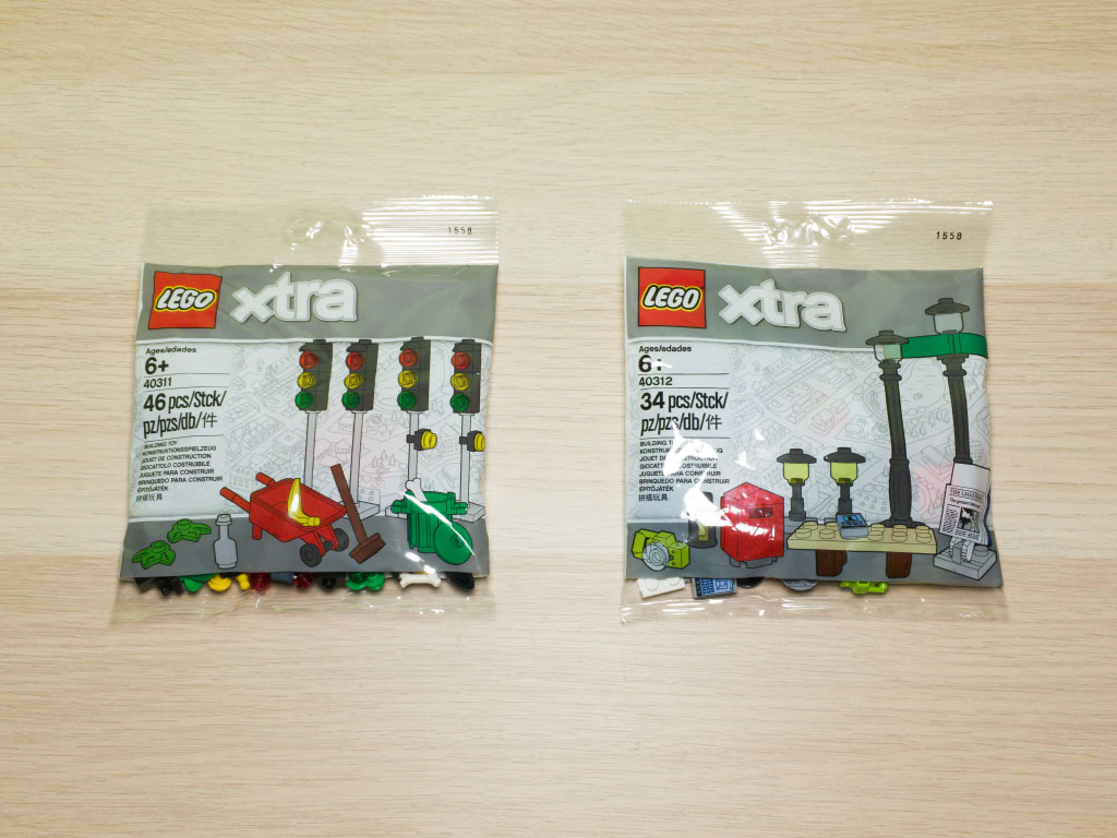 40311 Traffic Lights and 40312 Streetlamps thumbnail