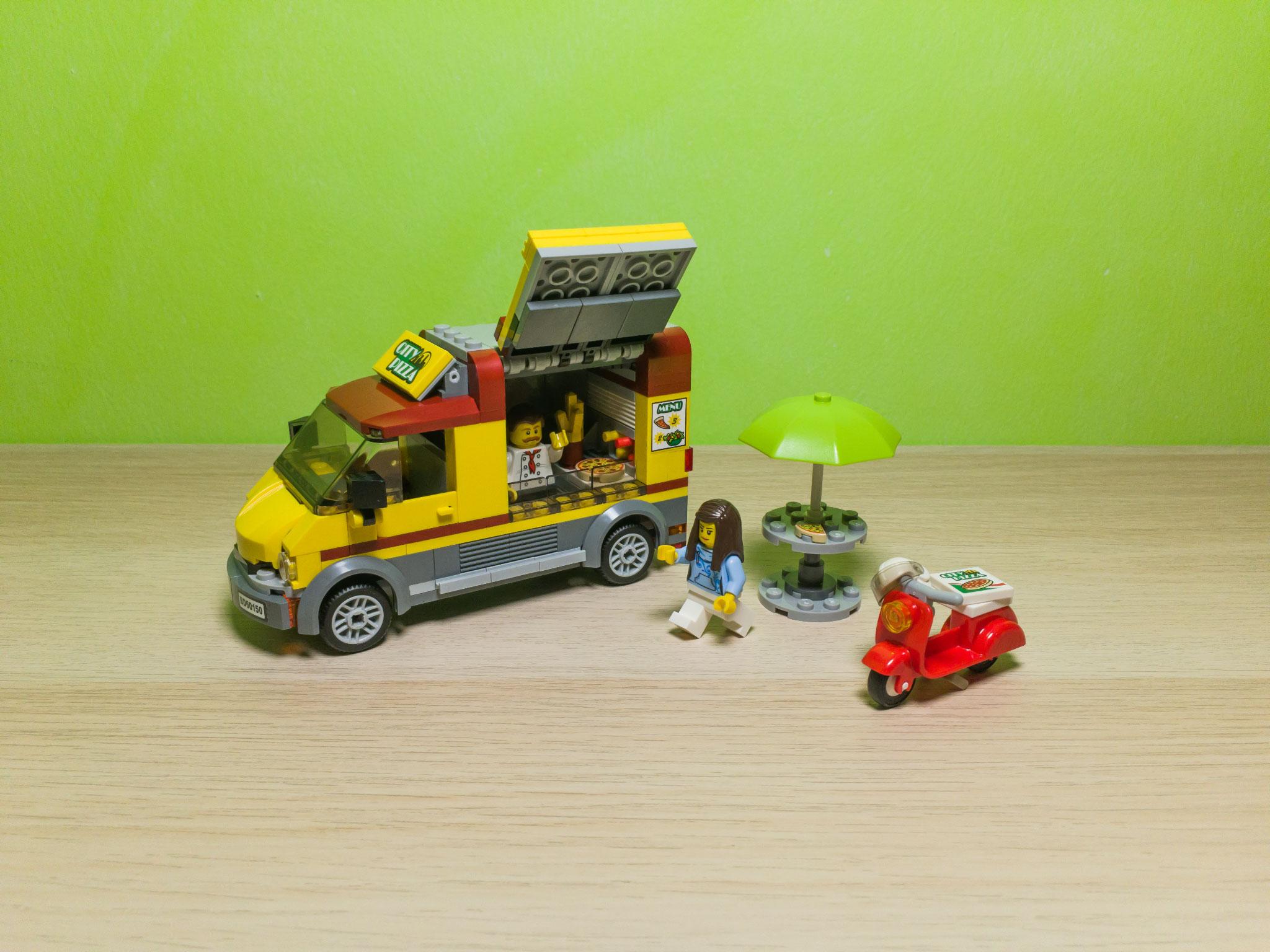 Lego Set Review 60150 Pizza Van Novalistic